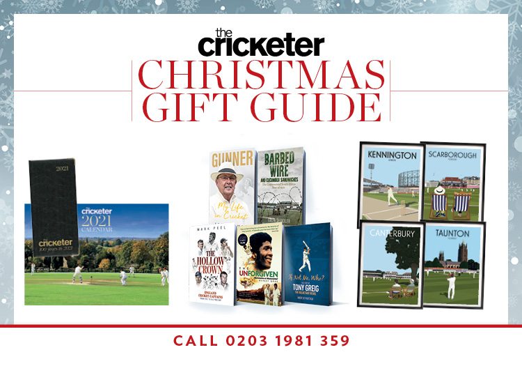 The Cricketer Christmas Gift Guide
