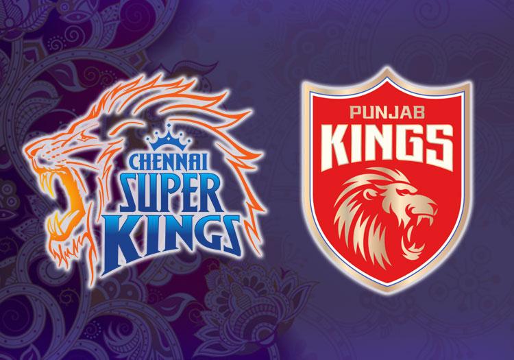 Punjab Kings vs Chennai Super Kings of match 53 in IPL 2021