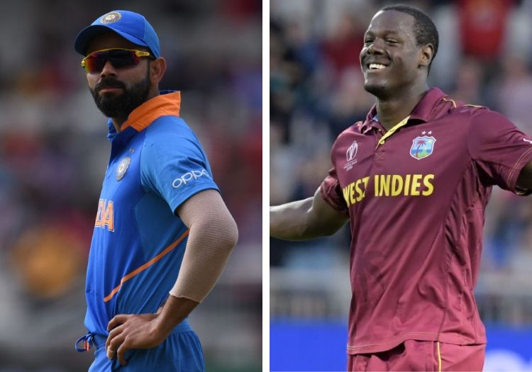 West Indies v India T20 series: TV channels, schedule, team news