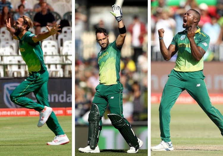 South Africa Announce World Cup Squad