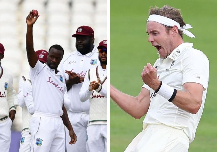 Broad stars as England edge closer to winning third Windies Test